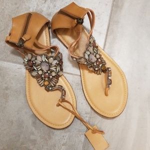Jasper&Jerra sandals for Anthropologie